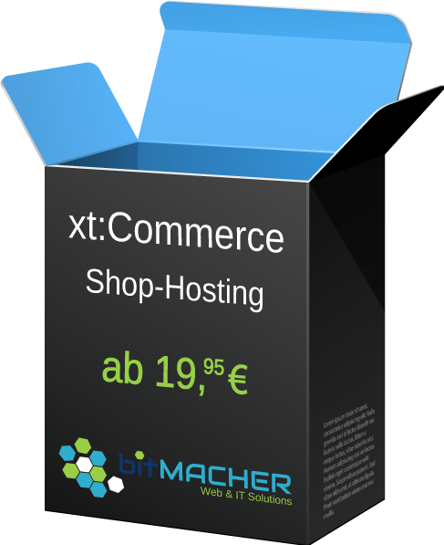 xt:Commerce Hosting-Paket